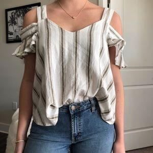 TopShop Cold shoulder tee